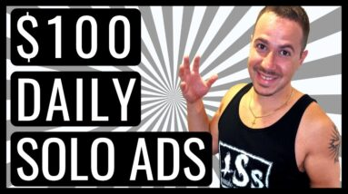 SOLO ADS 🔴 HOW TO EARN $100 DAILY BY SELLING SOLO ADS 💰 EVEN IF YOU'RE NEW (NOT UDIMI SOLO ADS)