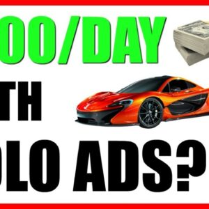 $200/Day Method To Make Money Online With Solo Ads | Solo Ad Training
