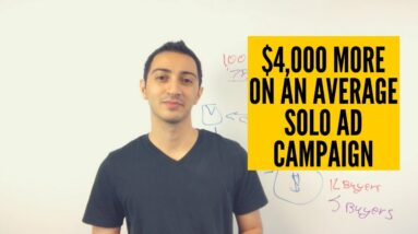 How I Make $4,000 More on An Average Solo Ad Campaign