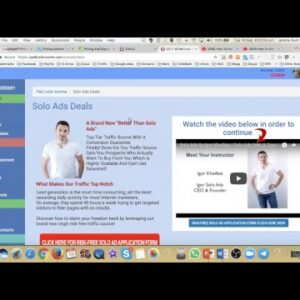 How To Get Autopilot Leads 24/7/365 With Solo Ads