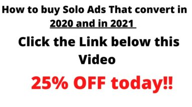 How to buy solo ads that convert in 2020 2021