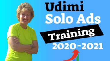 Udimi Solo Ads Training For 2020-2021