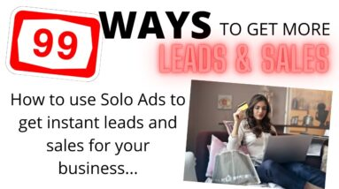 Best solo ads 2021 | Best solo ad traffic provider | Best solo ad guy | Solo ads tutorial