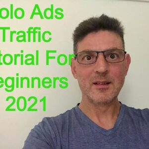 Solo Ads Tutorial For 2021. I'll Show You Two Of The Best Sites To Purchase High Quality Traffic.