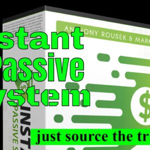 Instant Passive System Overview // solo ads // reseller // online business // internet marketing