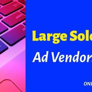 Large Solo Ad Vendors