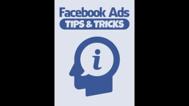 Facebook Ads Tips And Tricks 2021 - Dominate Online Traffic Video 3🤑💸💰