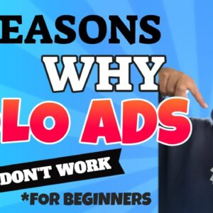 3 Reasons Why Solo Ads Don't Work for Beginners