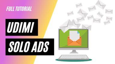 Udimi Solo Ads Training Guide 2021 📧