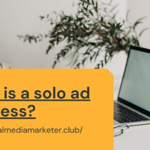 what is solo ad business
